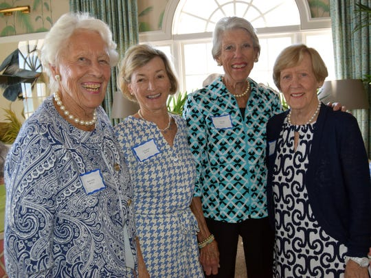 Ronni Wilks, Jill Benedict, Tina Long and Marty Wright