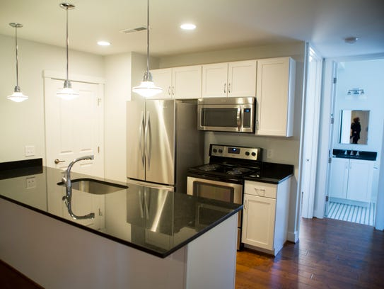 Monthly rent on the available one-bedroom units is