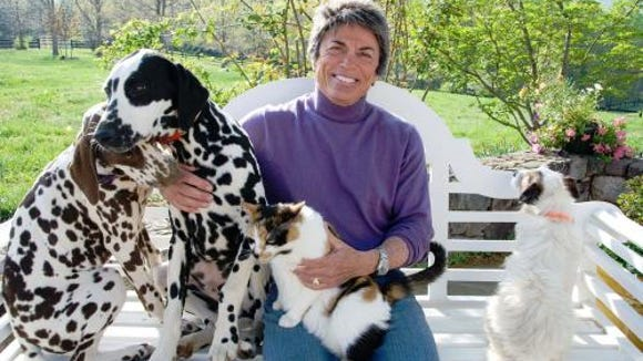 Author Rita Mae Brown lived in Hanover when young and
