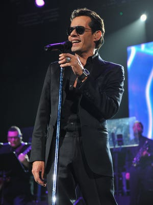 Marc Anthony and Carlos Vives perform at 9 p.m. Oct. 30 at the Don Haskins Center, in El Paso. Tickets range in price from $54.75 to $190.25 plus fees, and are available for purchase through Ticketmaster outlets, www.ticketmaster.com and 800-745-3000.