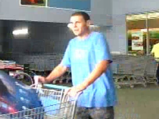 Jackson police need the public's assistance in identifying this man, who is believed to have stolen two televisions from Walmart in South Jackson.