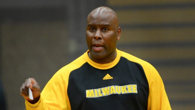 UW-Milwaukee men's basketball coach Pat Baldwin and his Panthers are responsible for one of Loyola's five losses this season.