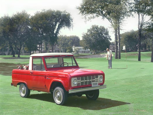 1966 Ford Bronco.