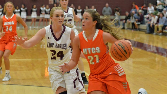 MTCS' Abby Buckner (21) committed to Tennessee Tech on Monday.