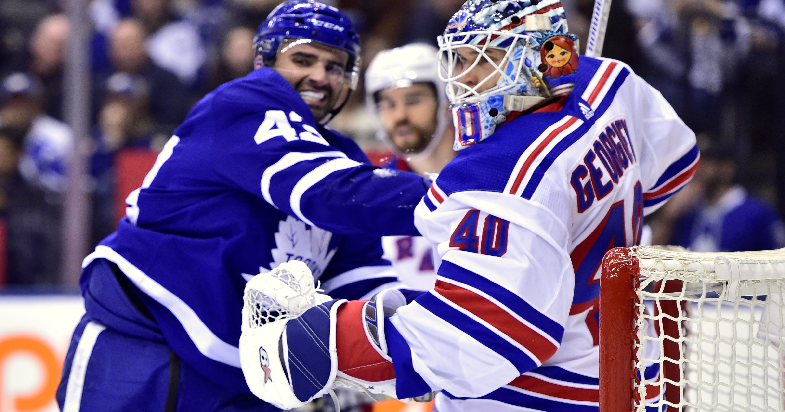 Marner lifts Maple Leafs over Rangers in wild third period a877a709a