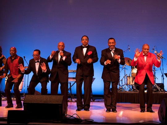 The Drifters, Cornell Gunter's Coasters and The Platters will team up for a concert Friday at the Clemens Center in Elmira.