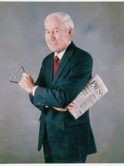 Former Asbury Park Press Publisher Jules L. Plangere
