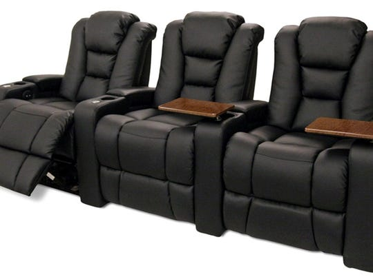 The new Main Street Movies 5 will feature recliner seating with cup holders, small tables and foot rests.