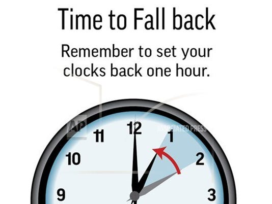 DAYLIGHT SAVING ENDS