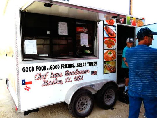 The Rancho de Boudreaux food truck is ready to roll on Parks Ranch near Mertzon.