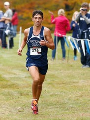 Watkins Glen's Gabe Planty competes in the Section