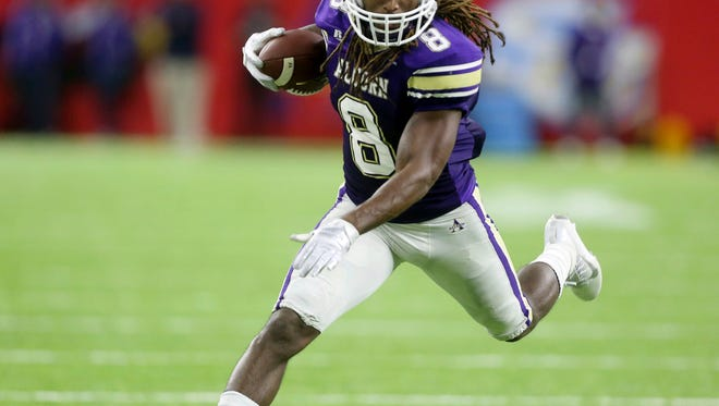 Alcorn State running back De'Lance Turner has a chance to become Alcorn State's all-time, single-season rushing leader if he can put together a couple of solid games to finish the 2017 season.