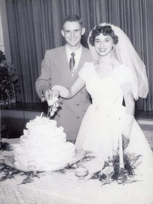 Mr. and Mrs. Frank Goodwin -- 1954