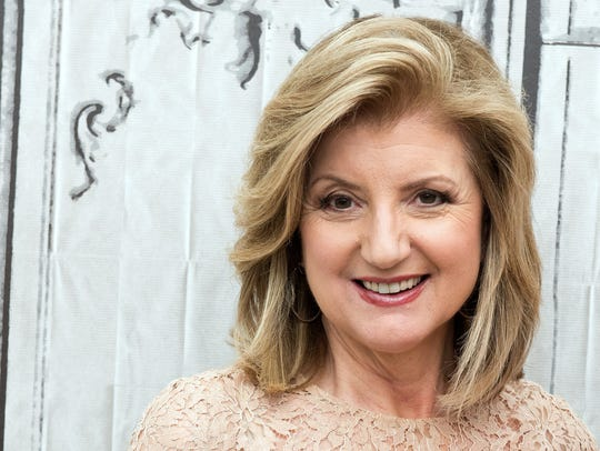 Arianna Huffington attends the AOL BUILD Speaker Series