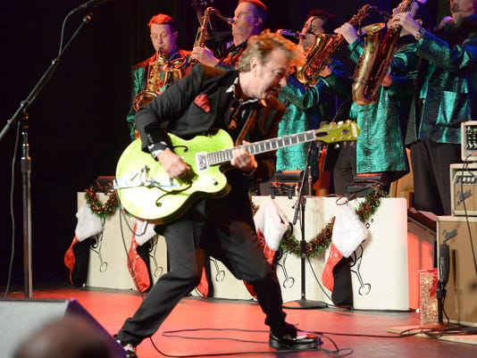 "The Brian Setzer Orchestra Perform Private ""Christmas Rocks"" Concert For SiriusXM Listeners At The Hard Rock Cafe In New York City; Concert To Air On SiriusXM's Outlaw Country Channel"
