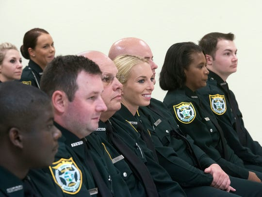The Santa Rosa County Sheriff's Office welcomes 18 new deputies to its department on Thursday.