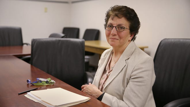 Dr. Jeanne Beno at the Monroe County Medical Examiners offices on E. Henrietta Road in Brighton Tuesday, June 14, 2016.
