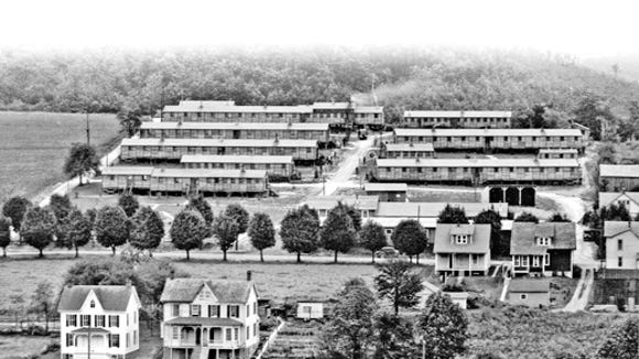 York County's CCC headquarters sat on a Glen Rock hillside. The Depression-era agency provided work when jobs were hard to find in the Great Depression.