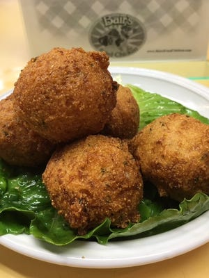 Crab Hush Puppies from Bair's are one of the many items featured for York City Crab Week, Aug. 8-14.