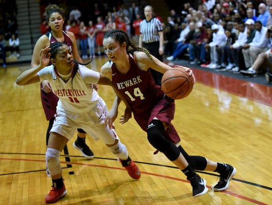 Westerville South 62, Newark 57