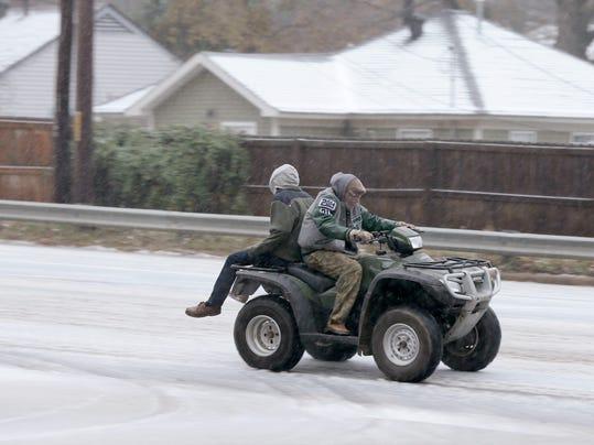 AP Cold Snap Arkansas