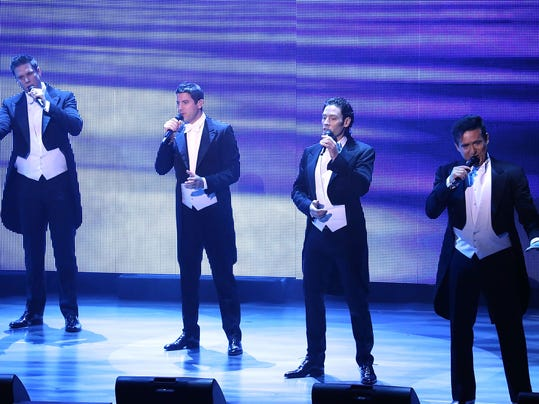 Il divo indulges fans with a syrupy 39 musical affair 39 - Il divo solo ...
