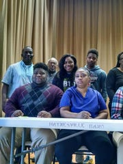 Defensive lineman Tony Critton will play at McMurry University.