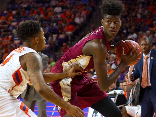 Feb 25, 2017; Clemson, SC, USA; Florida State Seminoles