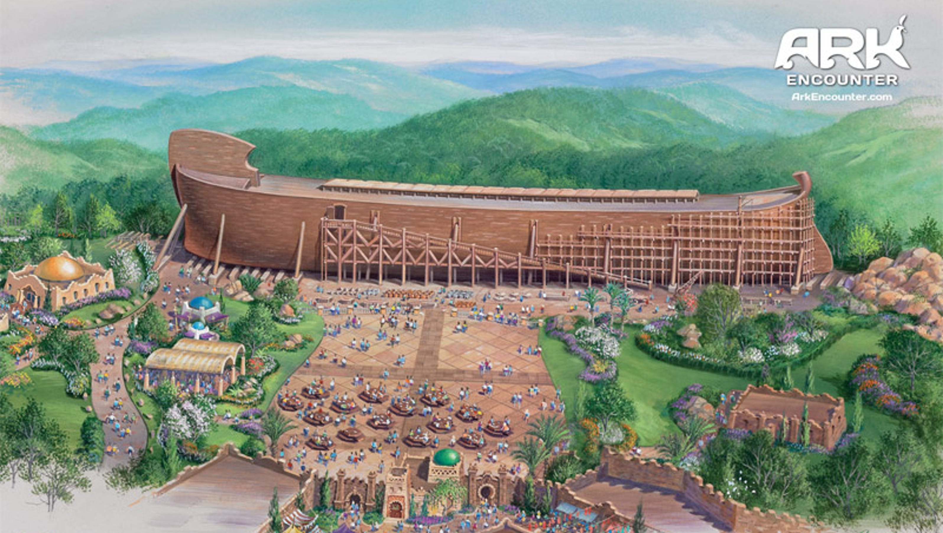 Ky. rejects $18M in tax incentives for Noah's Ark park