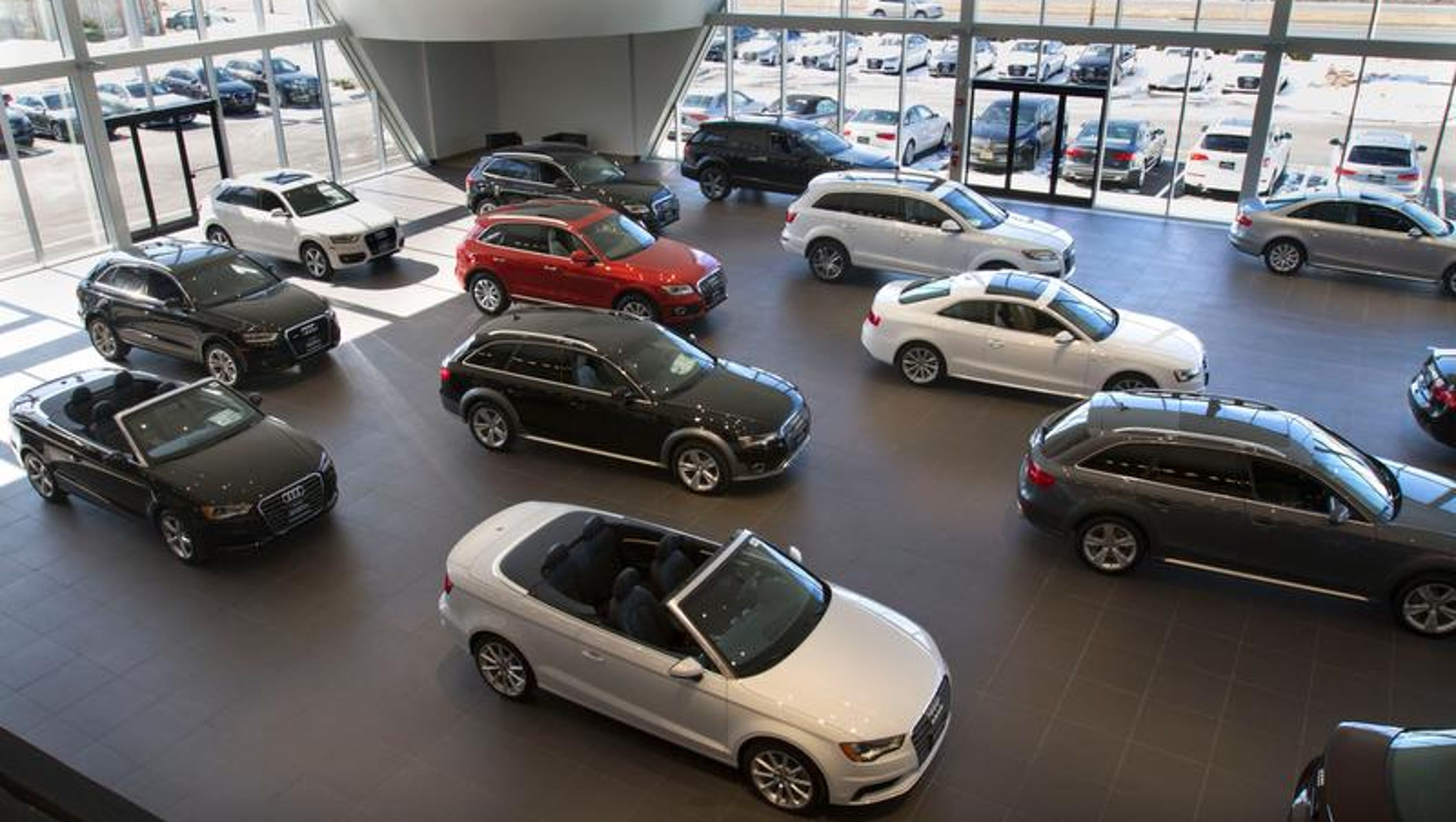 Audi freehold biggest audi dealer in u s opens in freehold for Mercedes benz freehold parts
