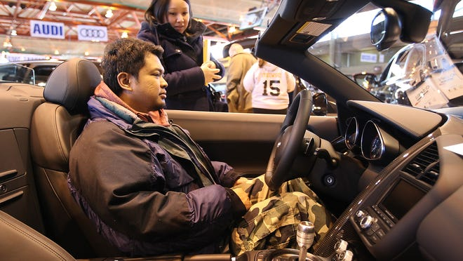 The 29th Tri-State International Auto Show is at Rockland Community College in Suffern on Jan. 23-25.