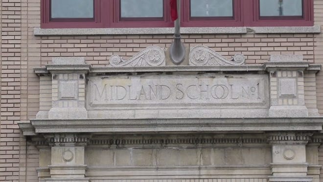 A screen grab of Midland School in Rochelle Park from a video by Chris Pedota for NorthJersey.com.
