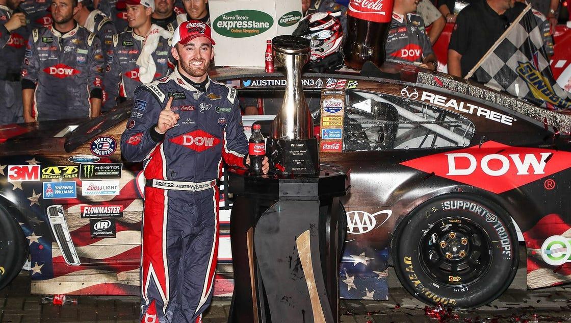 Coke 600: Five takeaways begin with Austin Dillon's important win
