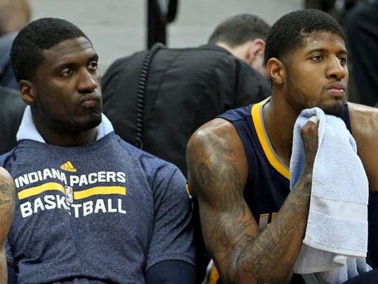 Paul George, Roy Hibbert 040114
