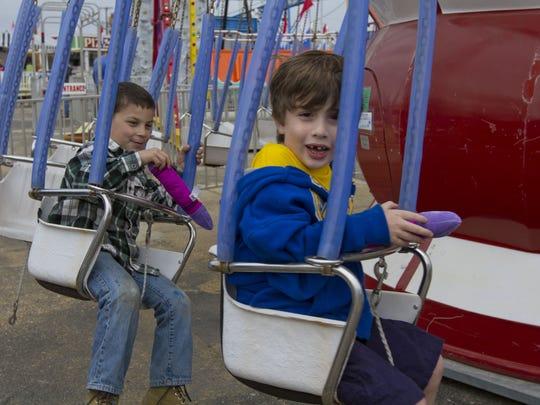Kids have fun at Keansburg Amusement Park.