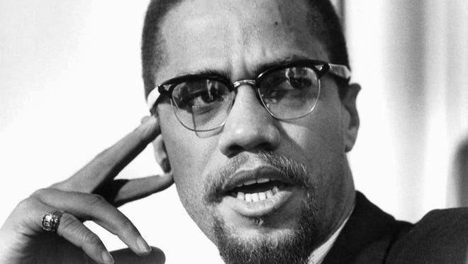 Malcolm X's real name was El-Hajj Malik El-Shabazz. He was a muslim minister and a spokesperson of the Nation of Islam. He was only 40 when he was killed.