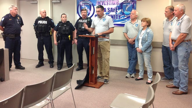 "The Port Aransas Police Foundation raised $10,000 for 20 ""active shooter"" vests for the police department."