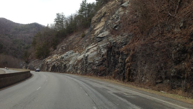 This file photo shows a portion of Interstate 40 near Exit 7 in northern Haywood County.