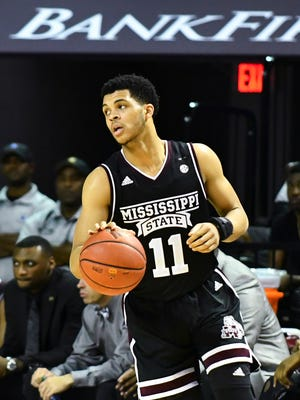 Mississippi State guard Quinndary Weatherspoon earned SEC player of the week on Monday.
