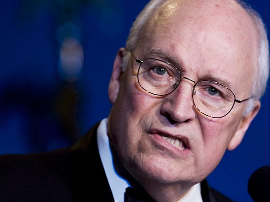 Vice President Dick Cheney, speaks at the 50th anniversary