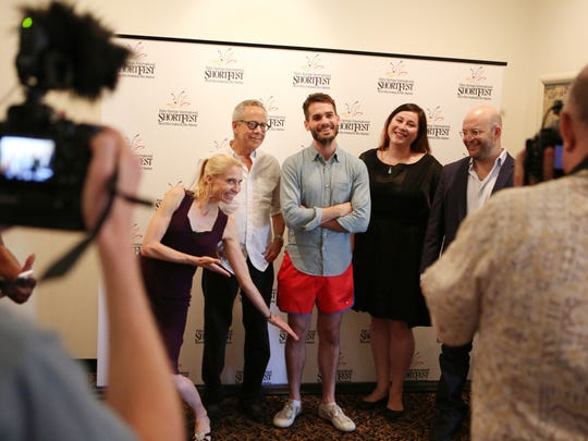 Scenes during the awards ceremony for the 2016 Palm Springs International ShortFest at the Camelot Theatres in Palm Springs on Sunday, June 26, 2016.