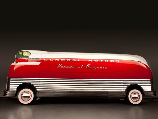 Meet the star of the auction block: The 1939 Futurliner