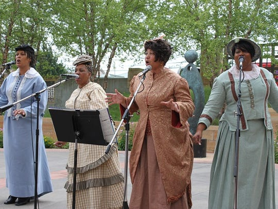 The Juneteenth celebration at the Eiteljorg Museum