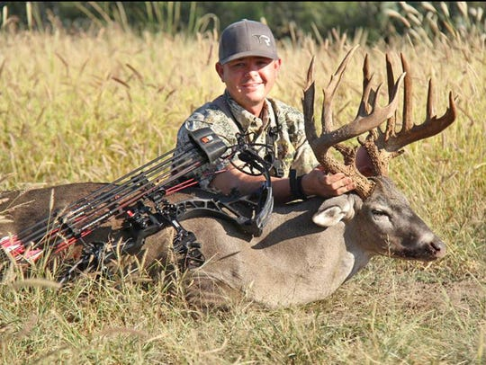 Several years ago, top fuel dragster driver and bow-hunter Steve Torrance killed the highest scoring buck ever taken off the Callaghan Ranch. It measured 206 Boone & Crockett inches.