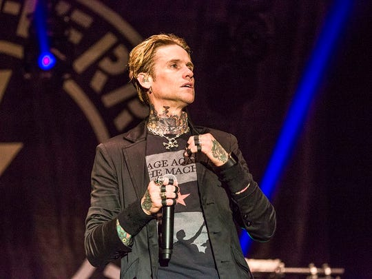 Buckcherry performs at the Harley-Davidson Roadhouse