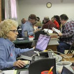 AARP tax preparers started offering free tax return services Feb. 1 at the Willie Estrada Memorial Civic Center. The service runs through April 15.