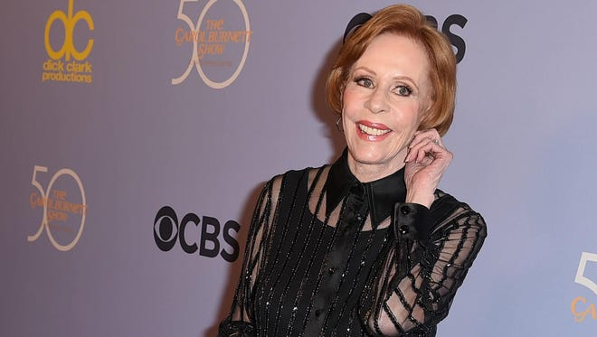Carol Burnett will be honored by the Red Skelton museum in Vincennes, Ind.