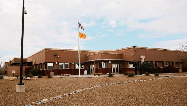 The San Juan County Adult Detention Center in Farmington is pictured in April 2015.