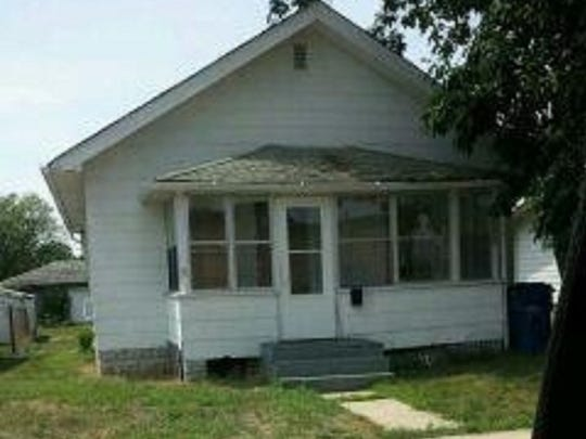The Carolina Street Demon House in Gary, Ind., was