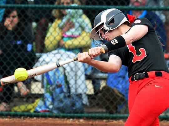 Lexington's Samantha McDaniel was The Jackson Sun's 2015 Softball Player of the Year.